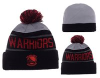 Wholesale Paisley Basketball - High quality New season basketball Curry fans Golden State winter kniited hats Warriored beanies for men women shipping free shipping
