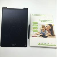 e tablet tabletleri toptan satış-12 Inç E-yazı Tahtası El Yazısı Pad Yazma Tablet Silme Çizim Oyuncaklar Yetişkinler için Taşınabilir Tablet Kurulu ePaper Çocuk