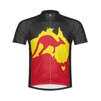 Wholesale boys road bikes - NEW Hot 2017 JIASHUO Bike Wear Australia Classical mtb road RACE Team Pro Cycling Jersey   Shirts & Tops Clothing Breathable Customized