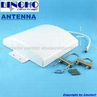 Wholesale Repeater Panel - 4 signal Outdoor Waterproof 12dBi 800-2700MHz SM 3G WIFI LTE 4G signal repeater flat panel antenna