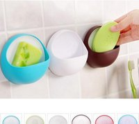 Wholesale bathroom brief suction cup soap holder Soap Dishes hanger