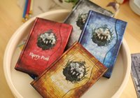 New Harry Potter Retro Magic Diary Book Block notes Magnet Notebook Fans Collection Miglior regalo