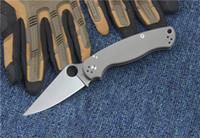 Wholesale Pockets Knives - SPIDER C81 CPM S30V D2 blade Titanium handle Folding Pocket Knife Survival Knife Xmas gift KNIFE 1pcs