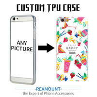Wholesale Mobile Covers Printing - Hot New Diy Customized Case Custom Logo Design Photos Printed Phone Case Cover for iphone 6 6plus Mobile Phone Case