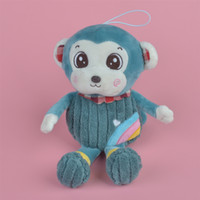 Wholesale Monkeys Toys Brands - 35-45cm Green Color Rainbow Monkey Brand New Soft Stuffed Aniamls Plush Toy, Baby Kids Brithdat Party Doll Gift Free Shipping
