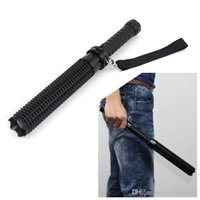 Wholesale drive baseball for sale - CREE Q5 LM LED Spiked Mace Baseball Bat Long ZOOMABLE Flashlight Self defense Torch Lamp Light Mode AAA Free ePacket