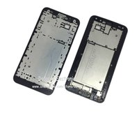 Wholesale Asus Bezel - Wholesale-Original Frame Front Bezel Cover For Asus Zenfone 2 ZE551ML LCD Middle Frame Faceplate Housing Case free shipping