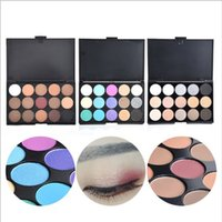 Concealer Neutral Palette 15 Farbe shimmermatte Make-up Farbe Kosmetik-Set Narbe Creme Gesicht Camouflage Body Foundation Lidschatten