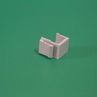 raspberry pi frete grátis venda por atacado-100 peças / lote tampa do painel de remendo vazio para 8 portas, 12 portas, 24 portas 48 portas em branco patch panel