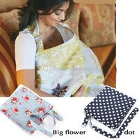Wholesale Breast Feeding Pad Cotton - Baby Mum Breastfeeding Nursing Cover Up Udder Covers Shawl Cotton Blanket E00030 ONET