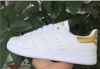 Wholesale Men S Ankle Shoes - Stock!Hot sale Lowest Price NEW STAN SMITH SNEAKERS CASUAL LEATHER MEN'S AND WOMEN 'S SPORTS RUNNING JOGGING SHOES MEN FASHION CLASSIC FLATS