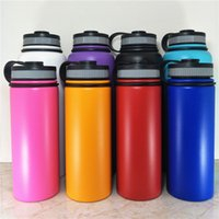 Wholesale Cycle Briefs - Convenient Insulation 32oz Stainless Steel Water Drink Bottle Cycling Sports Gym School Travel Use Wide Mouth 23x9cm ZA4125