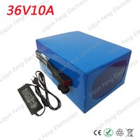 Wholesale Charger 36 - Deep Cycle 500W 36 Volt Electric Bicycle Ebike Battery 36V 10AH with PVC Cased Built-in 18650 cell with 15A BMS + 2A Charger