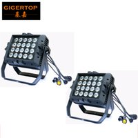 2pcs / Lot 20pcs * 15W RGBWA + UV 6IN1 llevó la luz de la arandela de la pared, UV +