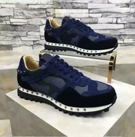 Wholesale Wedding Dress Size 36 - Exquisite Rock Runner Camo Sneakers Shoes Outdoor Trainer studded Women,Men Casual Walking Shoes,Rockrunner Party Dress Wedding Size 36-46