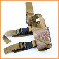 Wholesale Molle Drop Leg Pouch - NEW Tactical Molle Drop Leg Thigh Radio Pouch Multi function outdoors Bag