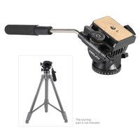 Wholesale Tripod Camera Video Monopod - KINGJOY VT-1510 Video Fluid Dydraulic Damping Damper Tripod Ball Head with Quick Release Plate for Nikon Canon Olympus DSLR Camera Monopod