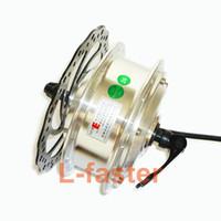 schnellbremse großhandel-36 V 48 V 250 Watt Elektrische Fahrradmotor Mit Schnellspanner Brushless Hub Motor Verwendung Bremsscheibe Rotor DIY Elektrische Fahrradnabe Motorteil