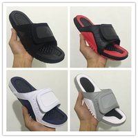 Wholesale Silver Booties Heels - Wholesale Air Retro 12 xii Hydro bred black red slippers 12s silver sandals Slides basketball shoes sneakers size 7-13