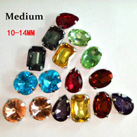 Wholesale Multi color Artificial Crystal Rhinestone Medium Package