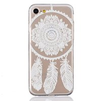 Wholesale 6.5 inch phones for sale - Group buy Lovely Lace Rose Flower Pattern Soft TPU Phone Back Clear Case Cover For iPhone SE S S Plus inch Free DHL