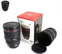 Wholesale Wholesale Photography Lenses - Free Shipping Creative Camera Lens Coffee Mug Canons Cup 2 Generation Of Len Mugs For Canon Fans Photography Novelty Gifts
