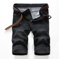 Cheap Denim Men Capri Shorts   Free Shipping Denim Men Capri ...