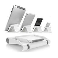 Wholesale universal tablet desk stand resale online - Colorful Portable Adjust Angle Stand Holder Flexible Desk Phone holder Support Bracket Mount For Tablet ipad