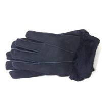 Wholesale Genuine Leather Gloves Wholesale - Wholesale- Men's Genuine Leather Real Fur Gloves Winter 2016 Warm Thick Sheepskin Mittens Accessories Hot Male Winter Real Leather Gloves