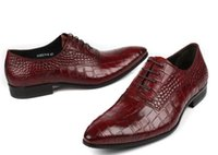 Wholesale Comfortable Mens Black Dress Shoes - 2017 Mens dress shoes men loafers genuine leather comfortable slip on Italian designer casual mens shoes flats for work size 39-44