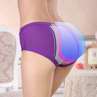 Wholesale Menstrual Leaks - Women's Menstrual Sanitary Period Leak Proof Modal Seamless Panties Underwear Women's Modal Cotton Briefs Bragas Mujer Calcinha