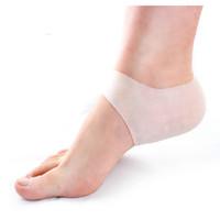 Wholesale Cracks Shoes - 1Pair Silica gel heel protector unisex relieve heel cushion pain and crack moisturizing whitening socks