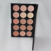 Wholesale Full Circle Lighting - 15 Colors Concealer Foundation Contour Face Cream Makeup Palette Pro Tool for Salon Party Wedding Daily VS Popfeel Full Cover Stick