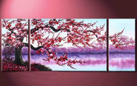 Wholesale Abstract Oil Painting 3pc - 3PC 1set Large Modern Abstract Art Oil Painting Wall Decor canvas(no framed)