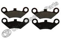 Wholesale Cfmoto Atv - Wholesale- 2 Pairs Front Brake Pad Semi metallic non asbestos For CFmoto CF500 500 500CC CF600 600 600CC X5 X6 X8 U5 ATV UTV Shineary