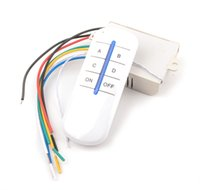 4 Way Channel eficiente inalámbrico Práctico ON / OFF interruptor de luz Splitter Digital transmisor remoto YB006-SZ +