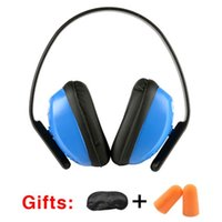 Wholesale Protective Ear Muffs - Ear Protectors Noise Soundproof Earmuffs Sleep Headset Protective Ear Defender Muff Protector Height Adjustable