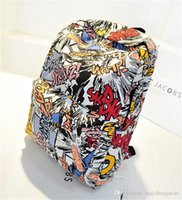 Wholesale Patchwork Japanese Bag - 2015 New women backpack jan sport backpack Casual canvas backpack men luggage travel bags Patchwork japanese school bag free shipping