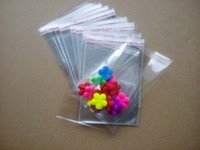 Wholesale 500PCS x6cm Clear Resealable Cellophane BOPP Poly Bags Transparent Opp Bag Packing Plastic Bags Self Adhesive Seal for jewelry