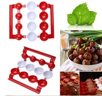Wholesale making stuff - Meatballs Kitchen Homemade Stuffed Meatballs home made making gadget kitchen tools for meatballs processing machines KKA1927