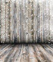 support de photographie de plancher de bois achat en gros de-Vintage Wood Wall Floor photographie toile de fond Dreamlike Polka Dots vinyle bébé nouveau-né Photo Prop enfants Studio enfants Portrait fond