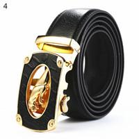 Wholesale Wholesale Quality Leather Belts - Wholesale retail automatic buckle belt Famous Brand Jaguar Belt Men Top Quality Genuine Fashion Luxury Leather designer business ceinture