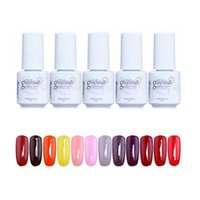 Gel Polish nail polish - 168 Colors GelPolish Soak Off UV LED Nail Polish Gelish For Nail Art Gel ml DIY Colorful Nail Lacquer ZA2524