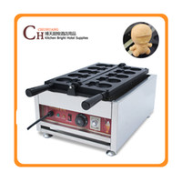 220V 3000W CE New Cartoon Doraemon Waffle Maker ,Biscuit Cookie Making Machine from Taiwan
