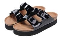 Wholesale Cheap Sandal Heel Platform - HOT Free Shipping Fashion man and woman High heels Sandals Platform, Cheap Summer Slippers Home, Casual Beach Sandals