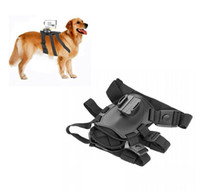 Wholesale Harness Pull - Dog Sport Pulling Harnesses Chest Strap Belt Mount for Sony HD Action Cam HDR-AS200V AS100V AS30V AS20V AZ1 FDR-X1000VR DHL
