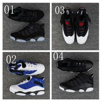 Wholesale Boots Ring - 2017 New Mens Air Retro 6 VI Rings Six Crowns High Quality 6s basketball Shoes outdoor Sneakers Sports Running Men Trainers Boots