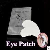 Wholesale Thin Eye Patch for Eyelash Extension Under Eye Patches Lint Free Gel Pads Moisture Eye Mask CCA5762