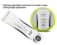 Wholesale Electric Hair Cutter Clipper - Hot Selling Withe Color Hair Clipper Sharpener Professional Hair Cutter Rechargeable Electric Ceramic Hair Clipper Machine