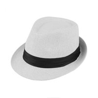 Wholesale beach hood - Tide Hero Hats Summer Men Female Panama Hood Jazz Cap Couples Street Dance Beach Hats SMB048